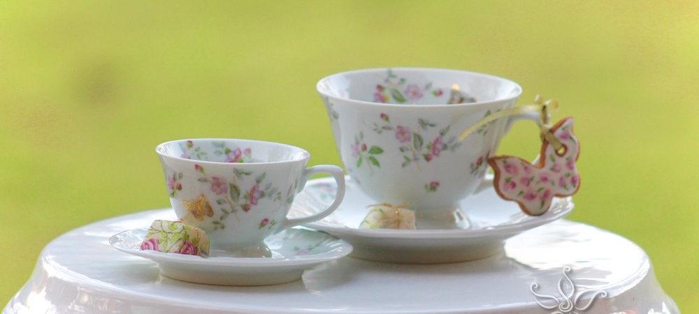 Xícaras de chá – acessórios de Hospitalidade
